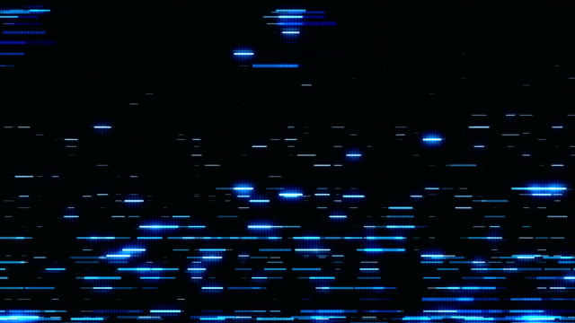 Abstract striped blue backlighting video