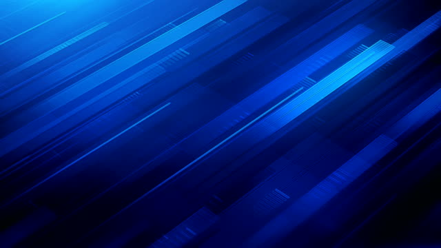Abstract Stripes Background (Dark Blue) - Loop