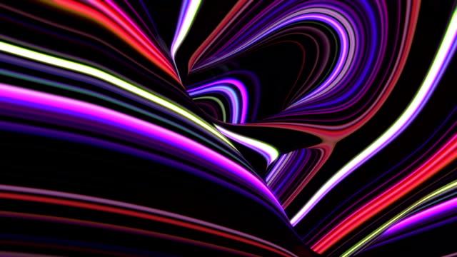 abstrakte streifen hintergrund - bewegungsunschärfe stock-videos und b-roll-filmmaterial
