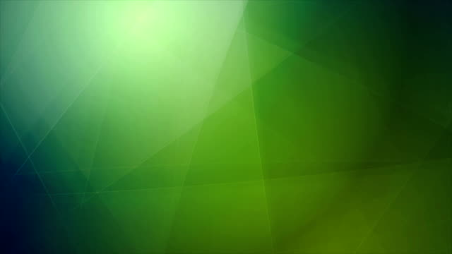 Abstract tech geometric polygonal motion design