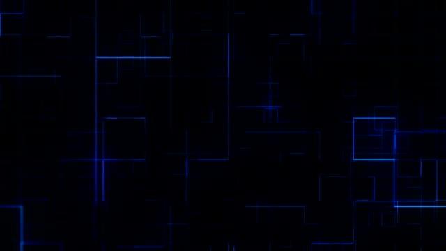 vidéos et rushes de contexte techno abstrait - quadrillage