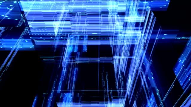 抽象的な技術、構図、ループ - 電化製品点の映像素材/bロール