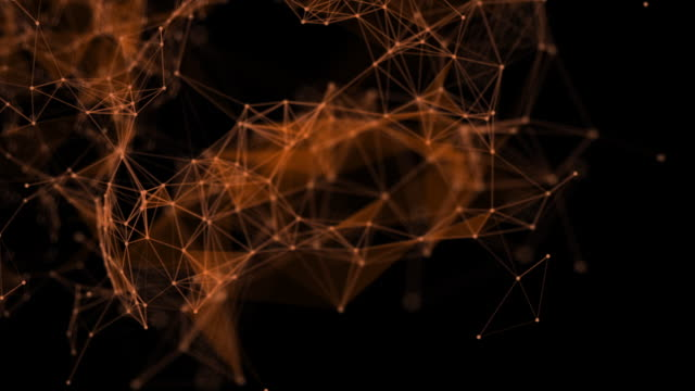 abstract technology of network or Social Network background