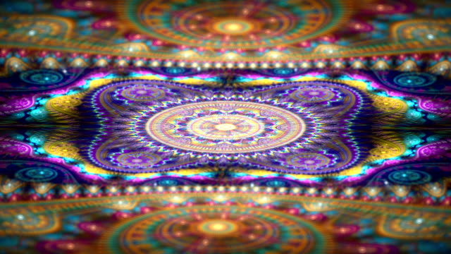 abstract texture fractal video
