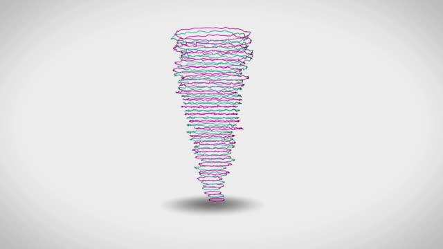 Abstract Tornado Animation video