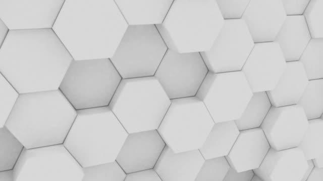 抽象的なトレンディなモダンなイラスト カラフルな背景。幾何学的図形。3 d レンダリング。パステル シンプルなスタイル。 - ローポリモデリング点の映像素材/bロール
