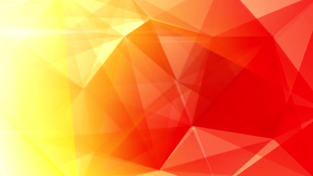 abstract triangle geometrical red background loop video