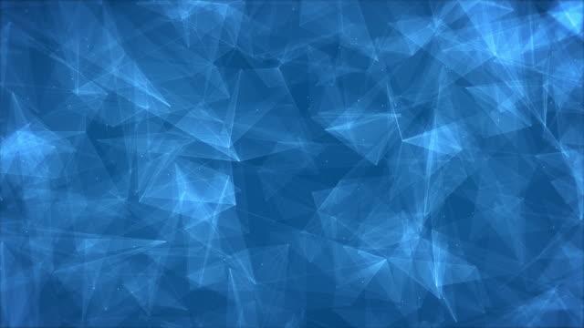 stockvideo's en b-roll-footage met abstracte driehoek vorm backgroud - naadloos patroon