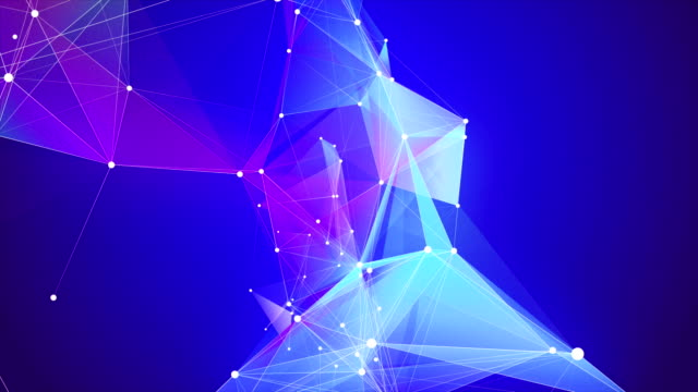 abstract triangle shape loopable backgrounds