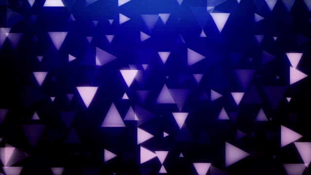 Abstract Triangles Backgrounds loop