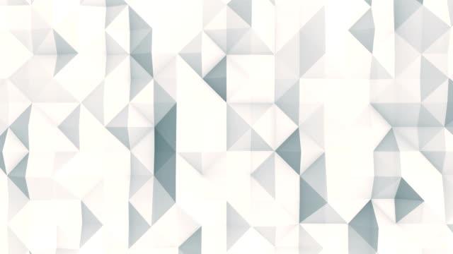 Triángulos abstractos (en bucle) - vídeo