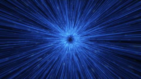 vídeos y material grabado en eventos de stock de animación de fondo de túnel abstracto - luz brillante
