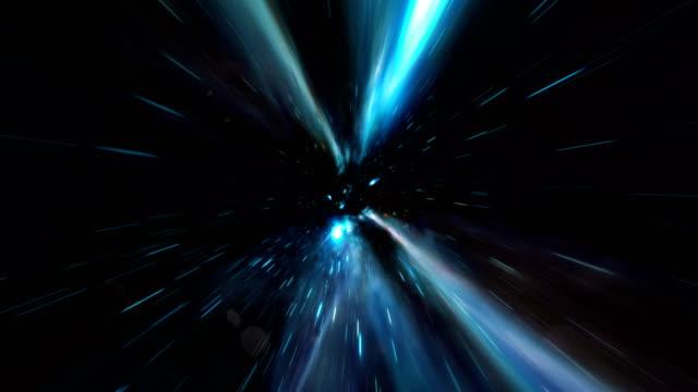 vídeos de stock e filmes b-roll de abstract tunnel background animation - aproximar imagem