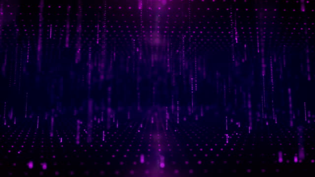 abstrakter tunnel lichtstrahl, glühen partikel (loopable) stockvideo - hell beleuchtet stock-videos und b-roll-filmmaterial