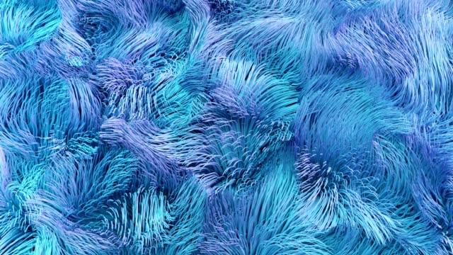 4K Abstract Underwater Kelp Fur.