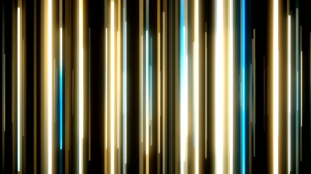 vídeos de stock e filmes b-roll de abstract vertical lines loopable background footage - vertical