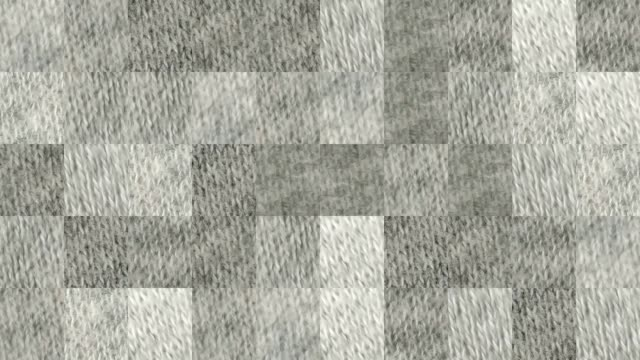 Abstract video of mosaic textures