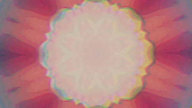 Abstract vintage kaleidoscope, colorful ornament background
