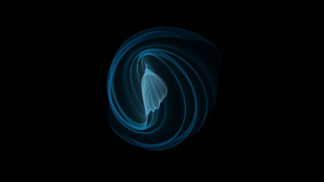 Abstract visualization of the birth of gas Abstract visualization of the birth of gas. Soft waves of a blue nebula generation x stock videos & royalty-free footage