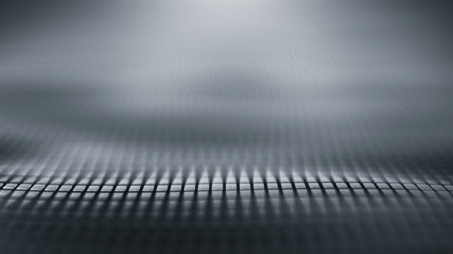 Abstract Wave Background (Silver / Gray) - Loop