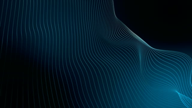 Video Abstract Wave Background