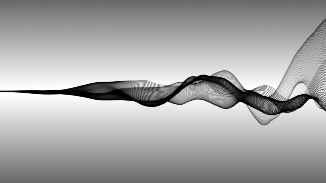 Abstract Wave Lines (loop 4k)