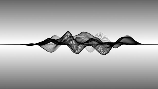 abstrakta våglinjer (loop 4k) - designelement bildbanksvideor och videomaterial från bakom kulisserna