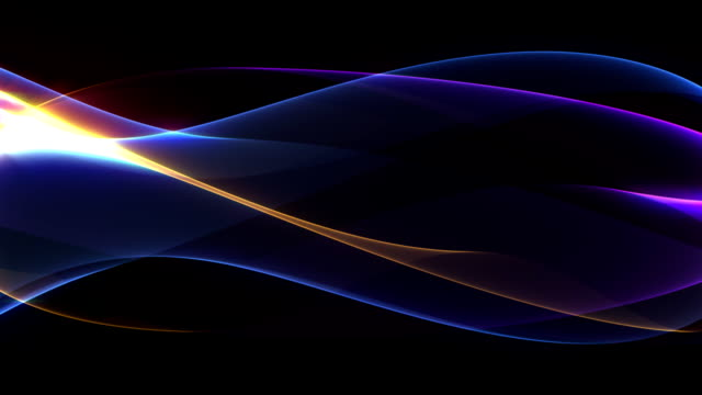 Abstract Waves Background HD video