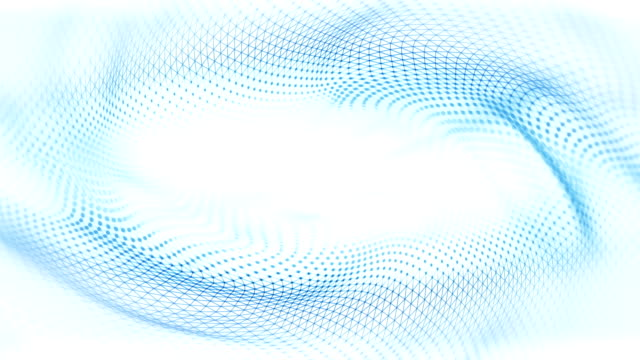 Abstract Waves Background (Bright) - Loop