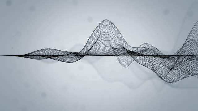 Lignes ondulées abstraites - Vidéo