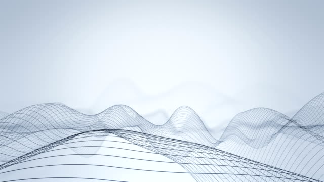 abstract wavy lines - semplicità video stock e b–roll