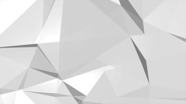Abstract white and black Concrete Triangle Gradient Pattern background, 4K(UHD) video