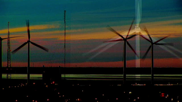 Abstract Wind Power - LOOP video