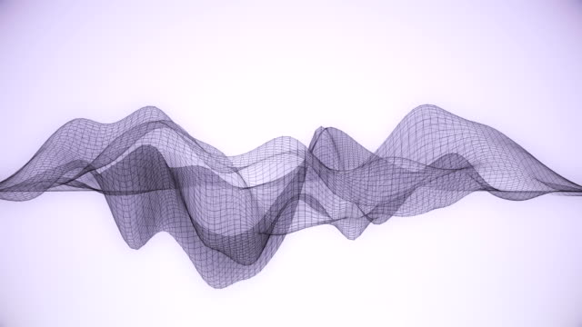 Abstract wireframe / lines. video