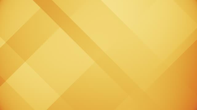 vídeos de stock, filmes e b-roll de blocos amarelos abstratos movendo looping retângulo. quadrado gráficos de movimento brilhante mágico. (loopable) - amarelo