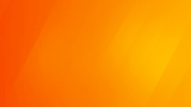 vídeos de stock e filmes b-roll de abstract yellow orange background with diagonal stripes. - laranja cores