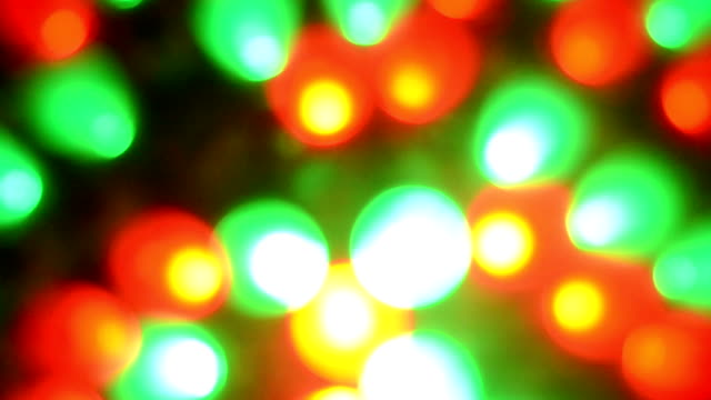 abstraction of the little red-green light