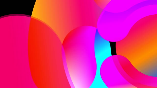 Abstraction with round colorful elements, 3d rendering backdrop, computer generating Abstraction with round colorful elements, 3d rendering background, computer generating the four elements stock videos & royalty-free footage