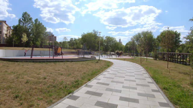 Academic Park in Moscow