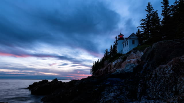 Acadia national park time lapse video