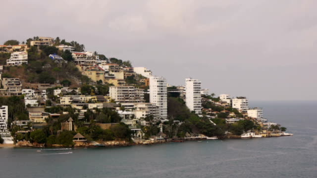 baia di acapulco appartamenti (hd - guerrero video stock e b–roll