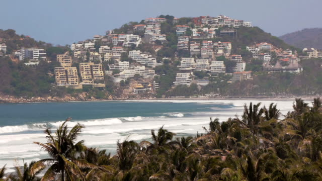 acapulco diamante beach appartamenti (hd - guerrero video stock e b–roll