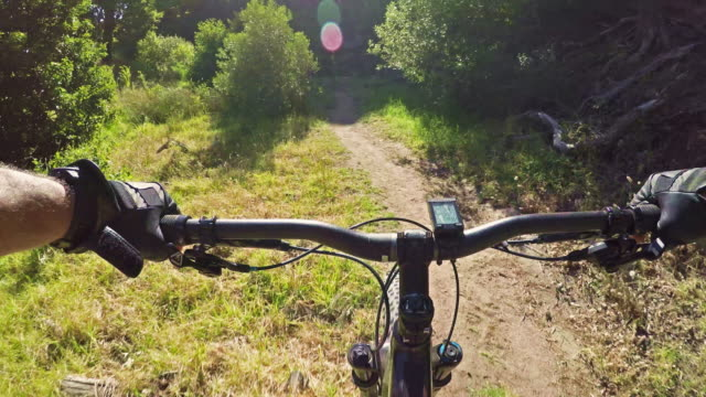 Accelerating down the trail video