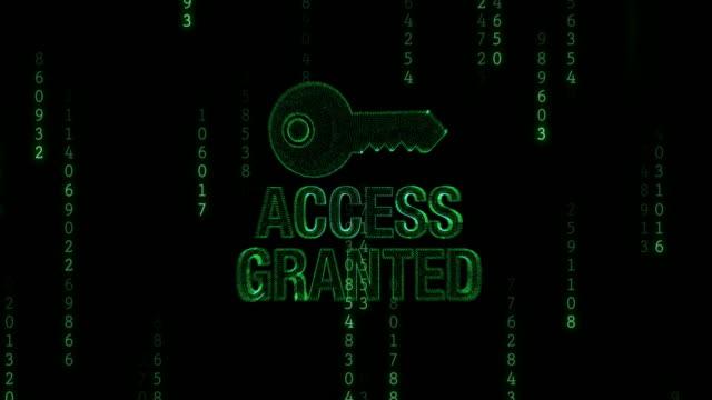 Acceso denegado con llave - vídeo
