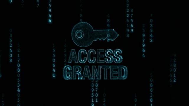 Access Denied with Key video