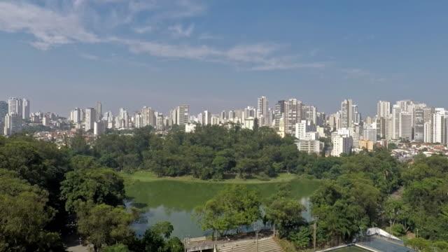 Aclimação Park Aclimação Park in the city of São Paulo in southeastern Brazil são paulo state stock videos & royalty-free footage