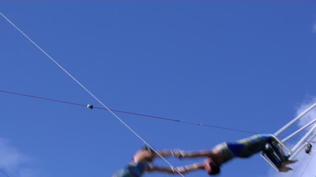 acrobat team.. - circus stok videoları ve detay görüntü çekimi