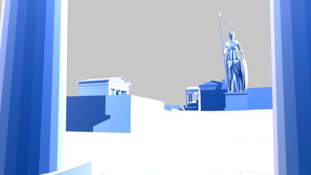 アクロポリス(hd ) - 民主主義点の映像素材/bロール