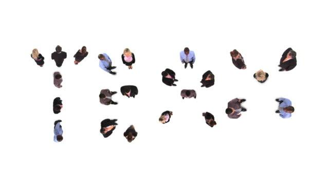 hd: acting as a team - e post bildbanksvideor och videomaterial från bakom kulisserna