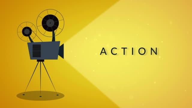 アクション - 映画用カメラ点の映像素材/bロール